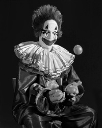 clown, 1946 by stan douglas