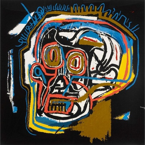 untitled (head) by jean-michel basquiat