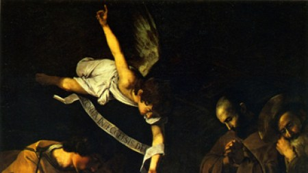 Canary Sings about Caravaggio