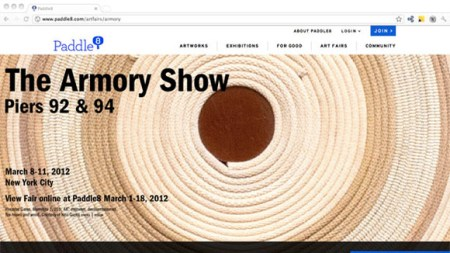 Paddle8 Homes on the Armory Show