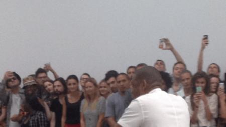 Jay-Z Serenades the Art World