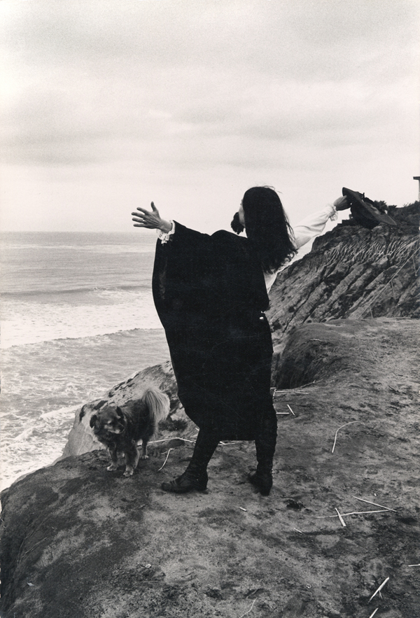 "Eleanor Antin, ""Men"" from The King of Solana Beach (detail), 1974-1975, five black and white photographs mounted on board. COURTESY THE ARTIST AND RONALD FELDMAN FINE ARTS."