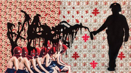 The Stitched, Collaged and Chillingly Violent