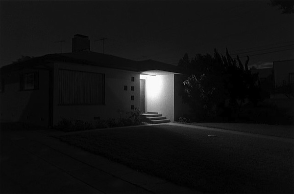 Henry Wessel Jr., Night Walk No. 28, 1995, gelatin silver print. COURTESY PACE/MACGILL GALLERY.