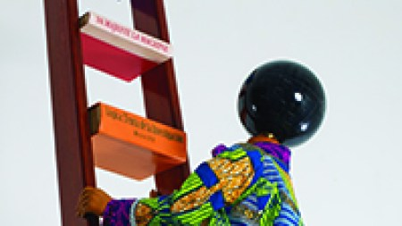 'Yinka Shonibare: MBE Magic Ladders' Barnes