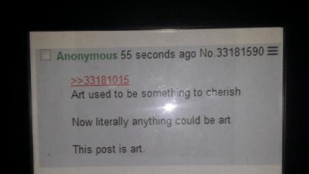 eBay Bidder Buys 4chan Screenshot, Art,