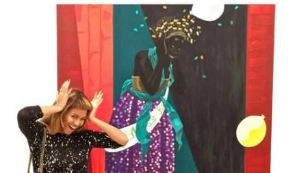 Beyoncé Visited Kerry James Marshall's Show