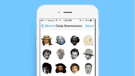 Morning Links: Cindy Sherman Emoji Edition
