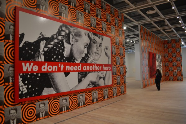 We Don't Need Another Hero Barbara Kruger Untitled
