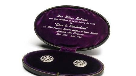 Sotheby's Auctioning 'Alice Wonderland's Silver Buttons'