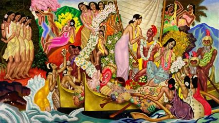 'Eugene Savage: The Matson Murals' Honolulu