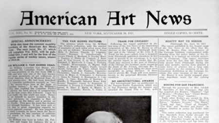 Retrospective: Barnett Newman on the New