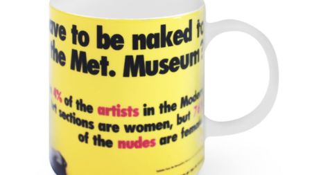 Morning Links: Guerrilla Girls Mug Edition