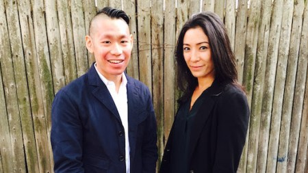 Christopher Lew and Mia Locks Will