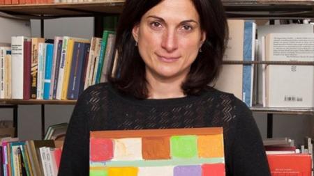 Tamuna Sirbiladze, Abstract Painter Who Recently