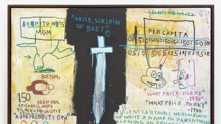 Jean-Michel Basquiat Nahmad Contemporary