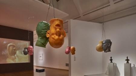 'Giacometti–Nauman' Schirn Kunsthalle Frankfurt