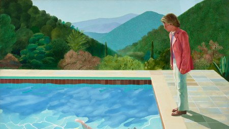 From the Archives: David Hockney Paints