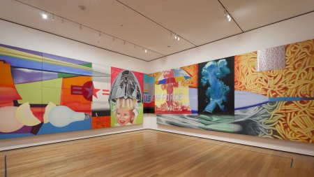 James Rosenquist, Who Channeled America's Heady,