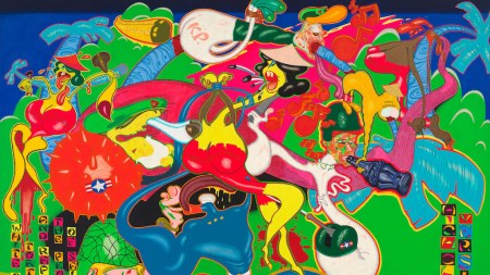 From the Archives: Peter Saul's Twisted