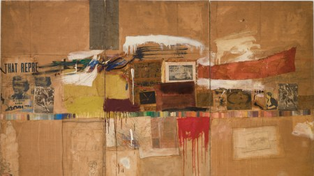 Then and Now: Untitled (After Rauschenberg)