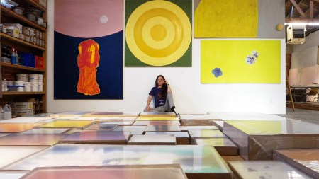 Gagosian Now Represents Mary Weatherford, Who