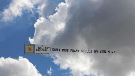 Frank Stella Takes the Sky