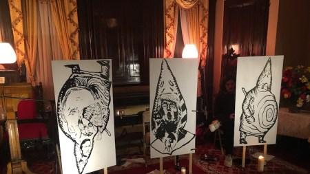 December: Ubu Trump, Erotic Art Museum,