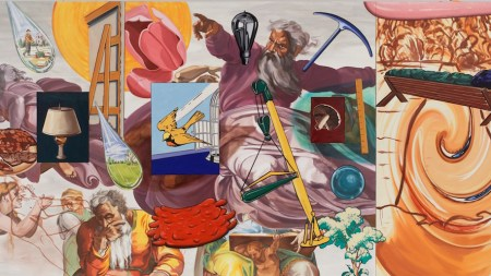 David Salle Touches God Seldom-Seen Paintings
