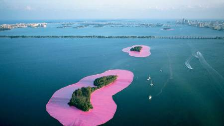 From the Archives: Christo Surrounds Islands