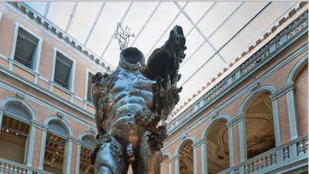 Damien Hirst's 60-Foot-Tall Demon Acquired Palms