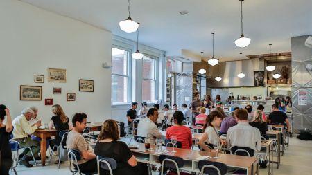 M. Wells Dinette, Popular Eatery MoMA