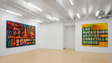 'Lines of Fracture' David Castillo Gallery,