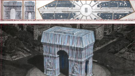 Christo Plans Wrap Parisian Arc de