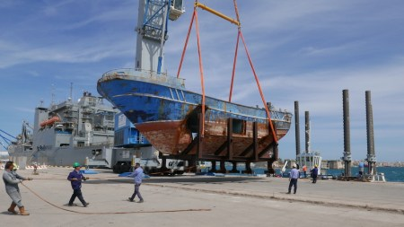 Venice, Christoph Büchel Will Show Ship