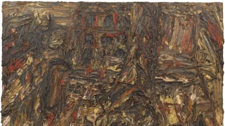 Leon Kossoff, 'Shell Building Site,' 1962,