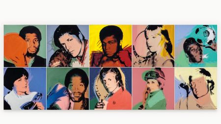 Andy Warhol Portraits of Revered Athletes