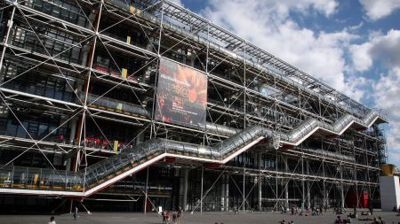 Centre Pompidou Painting Attacked—And More Art
