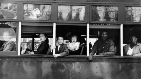 Robert Frank, 'Trolley - New Orleans,'
