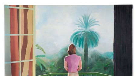 David Hockney Painting Goes to Auction