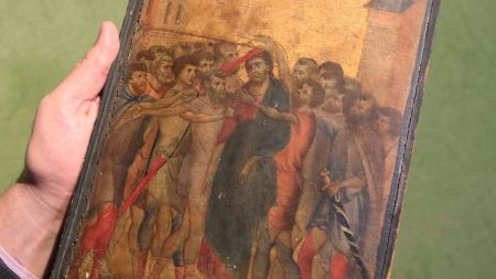 Cimabue Painting Sells for $26.8 M.—and