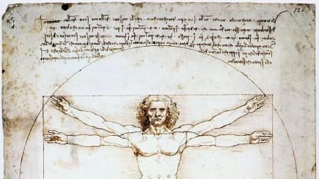 Leonardo da Vinci, 'Vitruvian Man', ca.