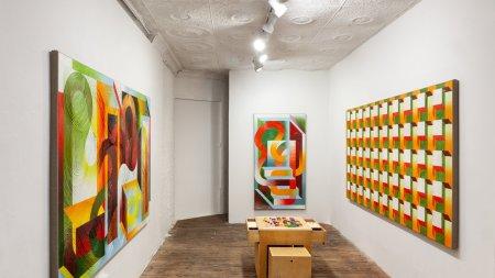 """Installation view of """"Mariah Dekkenga: Non-Zero"""