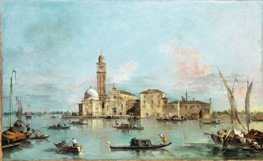 Francesco Guardi, 'The Island of San