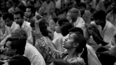 Shahidul Alam, 'Smriti Azad at Protest