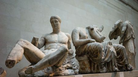 The Parthenon Marbles at the British