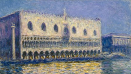 Claude Monet, 'The Doge's Palace,' 1908,