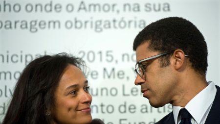 Isabel dos Santos and Sindika Dokolo