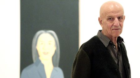 Us Artist Alex Katz Looks on