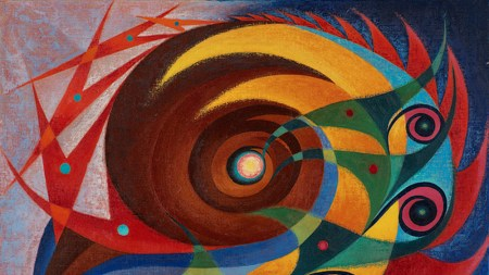 Dick West, Spatial Whorl, 1949–50.